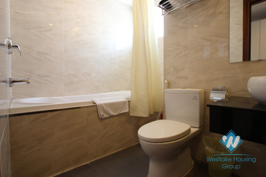 High quality one bedroom apartment for rent in Ba Dinh district