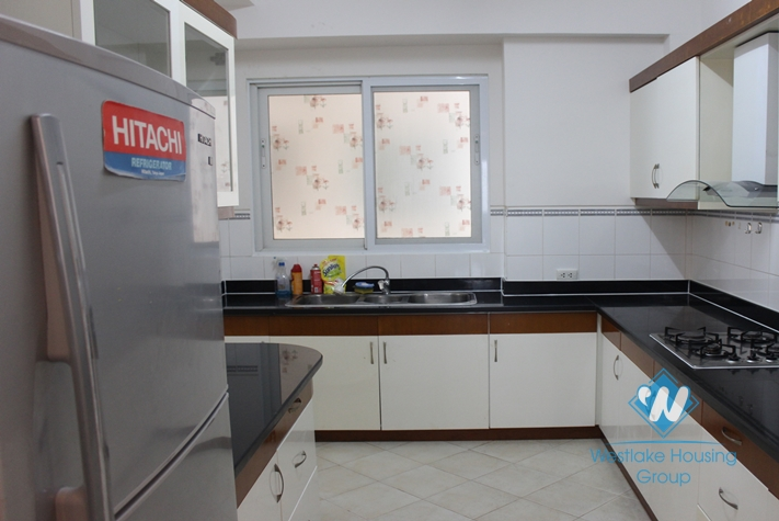Four bedrooms apartment for rent in E building, Ciputra Hanoi