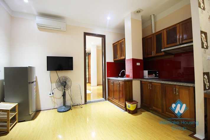 Bright and airy 1 bedroom apartment for rent in Cau Giay
