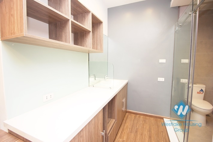 Modern style studio apartment for rent in Cau Giay district
