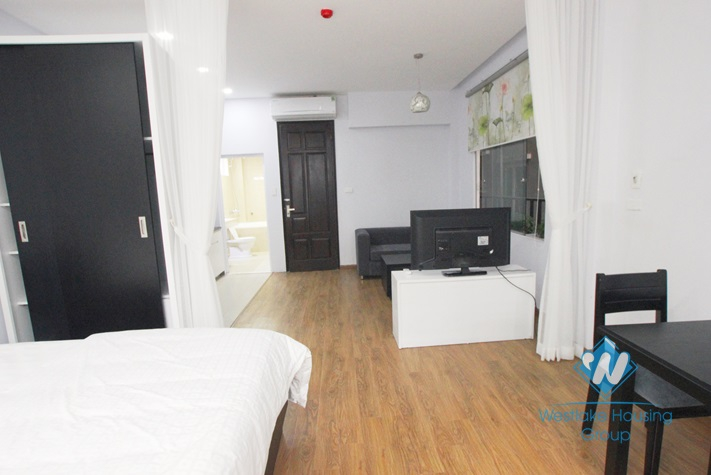 Brand new 01 bedroom services apartment for rent near Tran Duy Hung, Cau Giay, Hanoi
