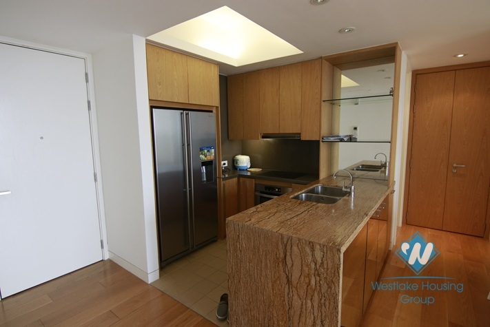 Modern 2 bedrooms apartment for rent in Indochina Plaza, Cau Giay district, Ha Noi
