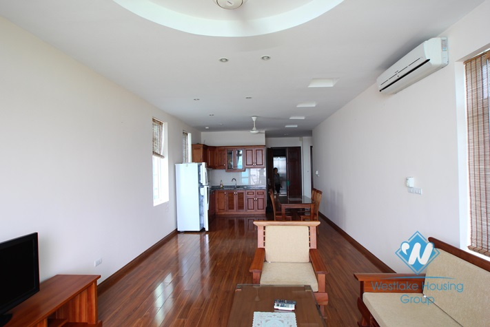 Lake view apartment for lease in Yen Phu Village, Tay Ho, Ha noi
