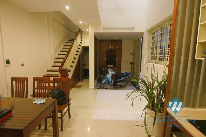 Private 4 bedrooms house for rent in Cau Giay district, Hanoi