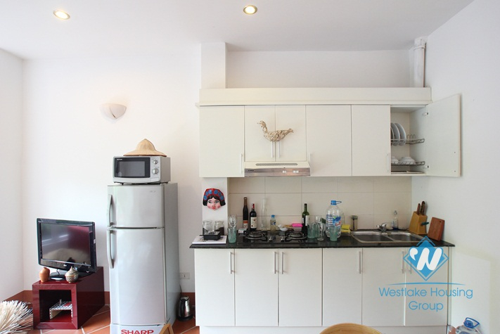 Nice apartment with separate one bedroom for rent in Truc Bach, Ba Dinh, Ha Noi