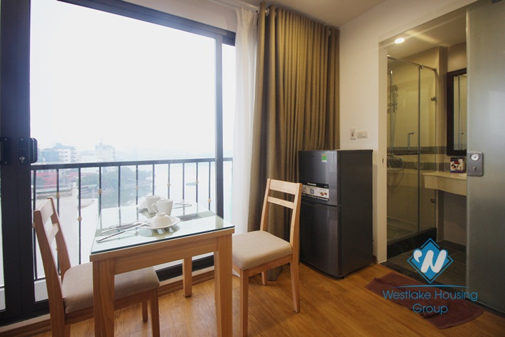 Truc Bach view apartment for rent, huge terrace, modern furnishings
