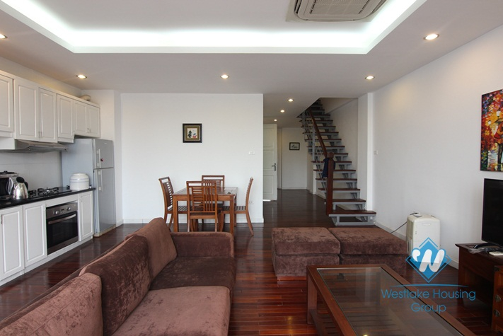 Super modern with stunning lake view apartment in Truc Bach, Ba Dinh