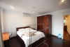 03 bedrooms apartment for rent in Truc Bach area, Ba Dinh district