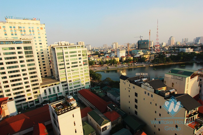 01 bedroom serviced aparment for rent in Kim Ma St, Ba Dinh, Ha Noi