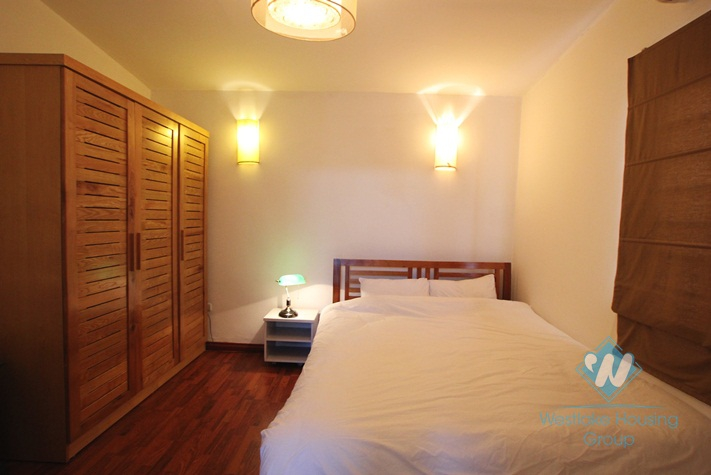 Nice apartment with 2 bedrooms for rent in Ba Dinh, Ha Noi