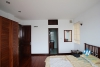 Lake view 02 bedroom apartment rental in Truc Bach area, Ba Dinh district, Hanoi