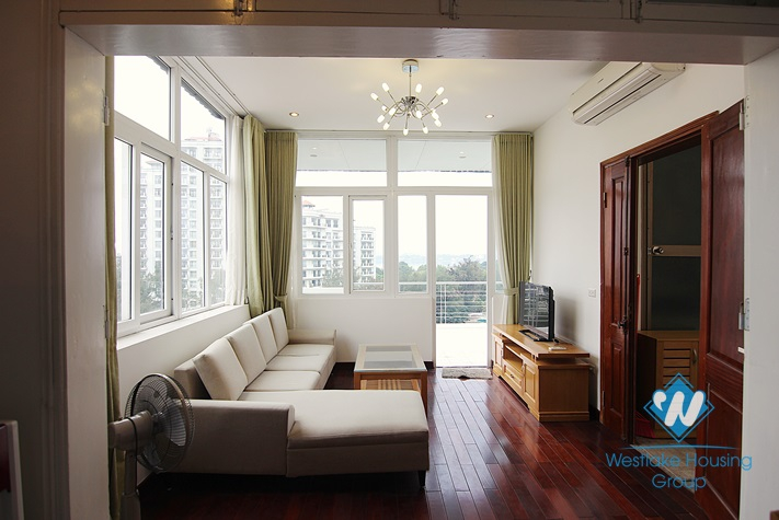 Stunning penthouse apartment for rent with two bedroom and large balcony in Westlake, Tay Ho, hanoi, Vietnam