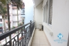 Three bedrooms house for rent on Au Co street, Tay Ho district, Ha Noi