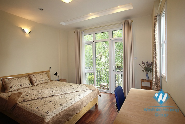 Nice 02 bedroom apartment for lease on Dang Thai Mai street, Tay Ho district, Hanoi
