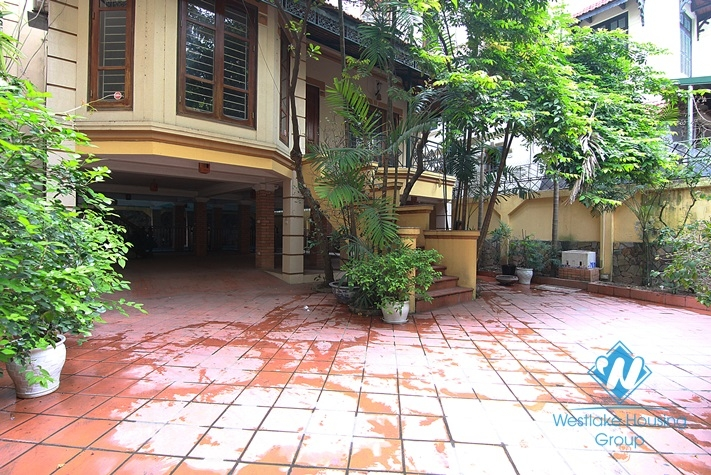 Beautiful house with swimming pool for rent in To Ngoc Van st, Tay Ho district