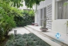 Lake view terrace modern villa for rent in Tay Ho, Hanoi