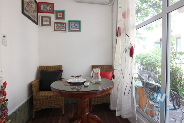 Bright rooftop apartment rental in Dong Da, Hanoi