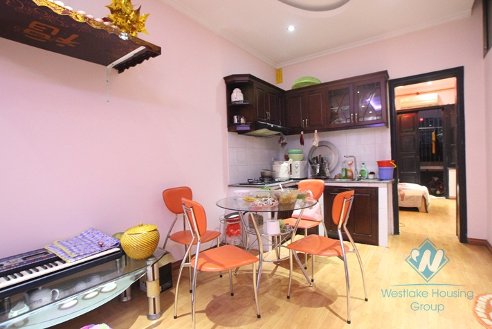 Quiet apartment with separate bedroom for rent in near My Dinh Bus Station.