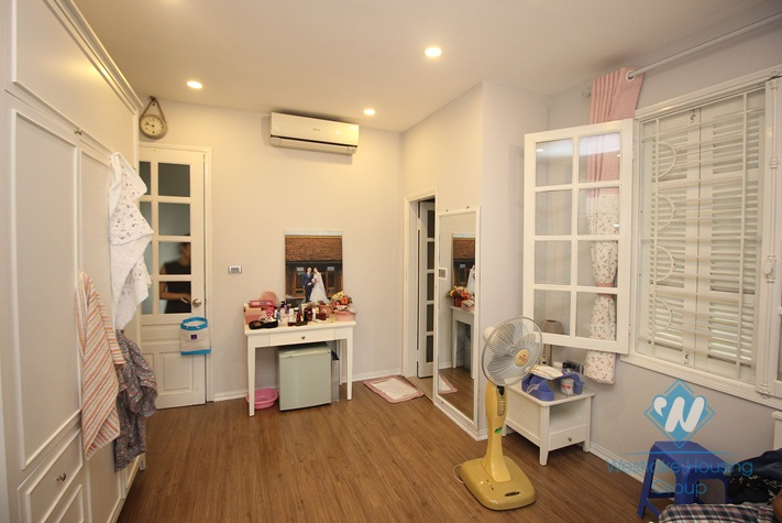 Modern furnished house for rent near Lang Ha, Dong Da, Hanoi