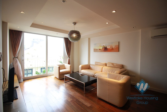 2 bedrooms, fully furnished apartment for rent in To Ngoc Van, Tay ho, Ha Noi