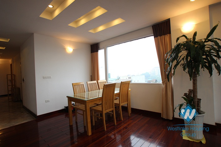 Nice aparment for rent in Truc Bach area, balcony, lake view