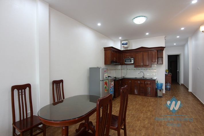 An apartment with one bebroom for rent on Nghi Tam Village