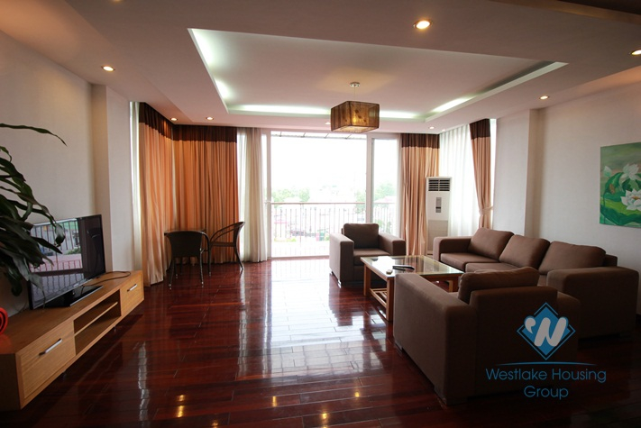 High floor apartment with nice opened view and 2 bedroom for rent in Truc Bach area, Ba Dinh, hanoi, Vietnam