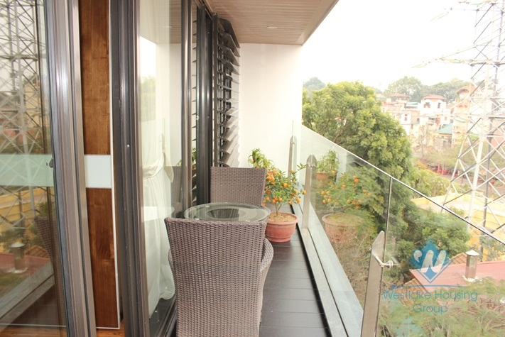 Beautiful and luxury apartment for rent in truc Bach area
