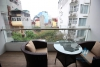 Nice apartment with outdoor balcony for rent in city centre, Hanoi
