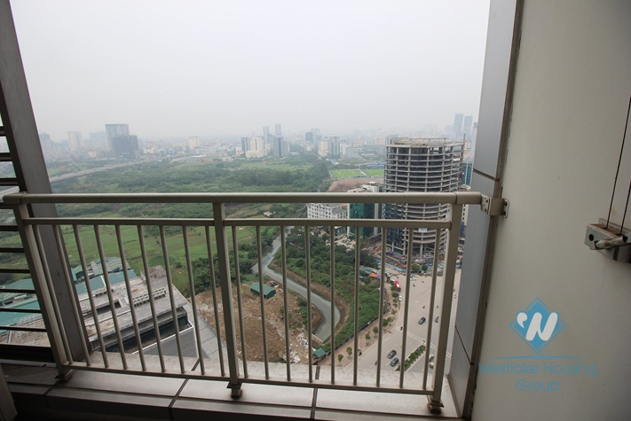 A modern and elegant 3 bedroom apartment for rent in Keangnam Hanoi Landmark Tower