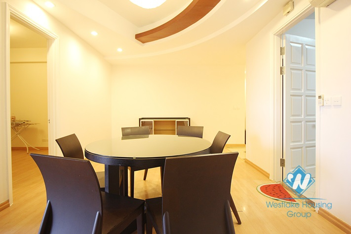 4 bedrooms apartment for rent in Ciputra, Tay Ho, Hanoi.