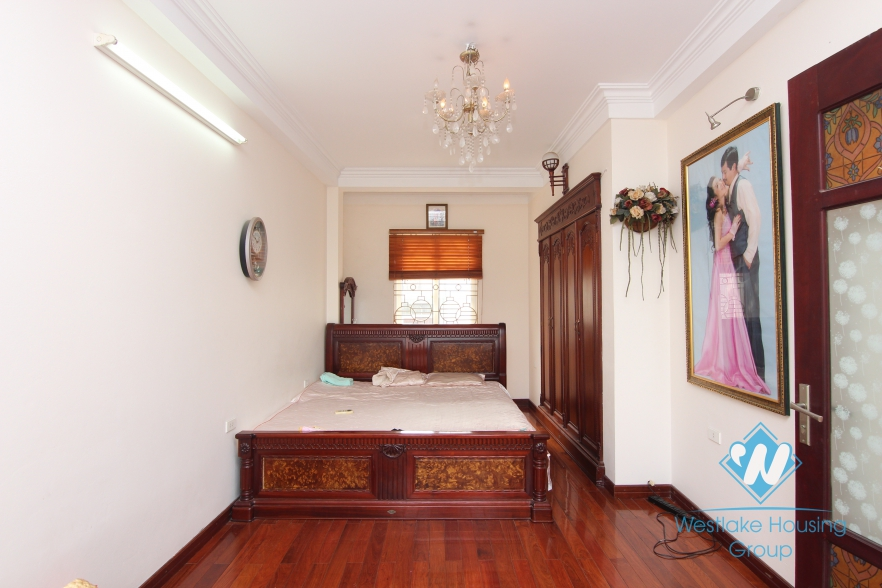 A Cozy house for rent in Dong Da district, Ha Noi