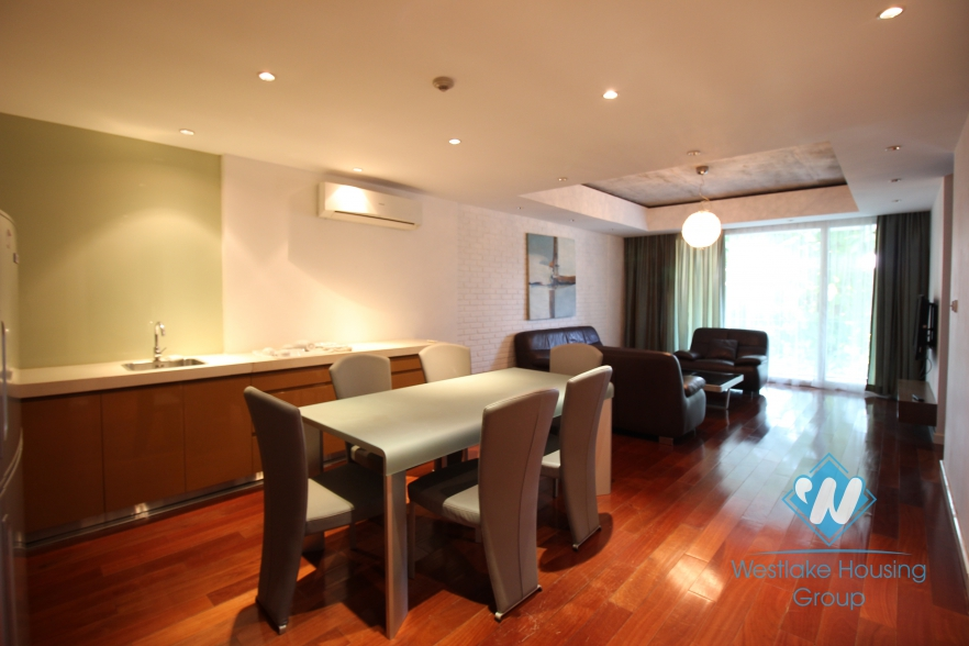 Wonderful apartment for rent in Tay Ho Street, Tay Ho District, Hanoi.