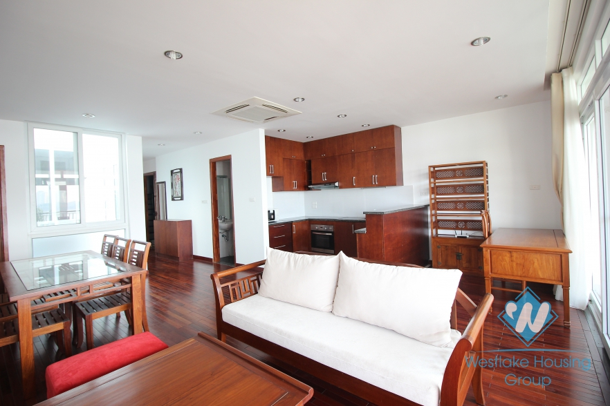 High quality lake view apartments for rent in Tay Ho