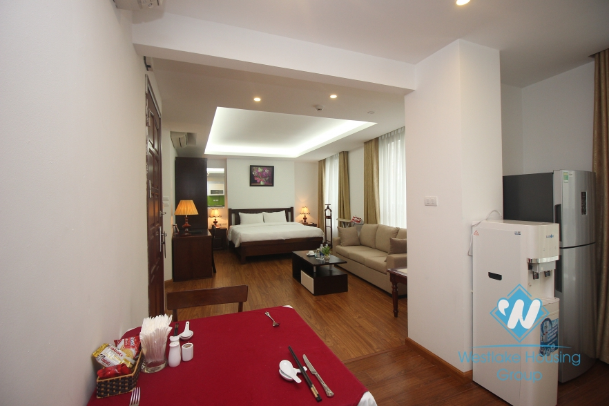 Beautiful studio apartment for rent in Hai Ba Trung district