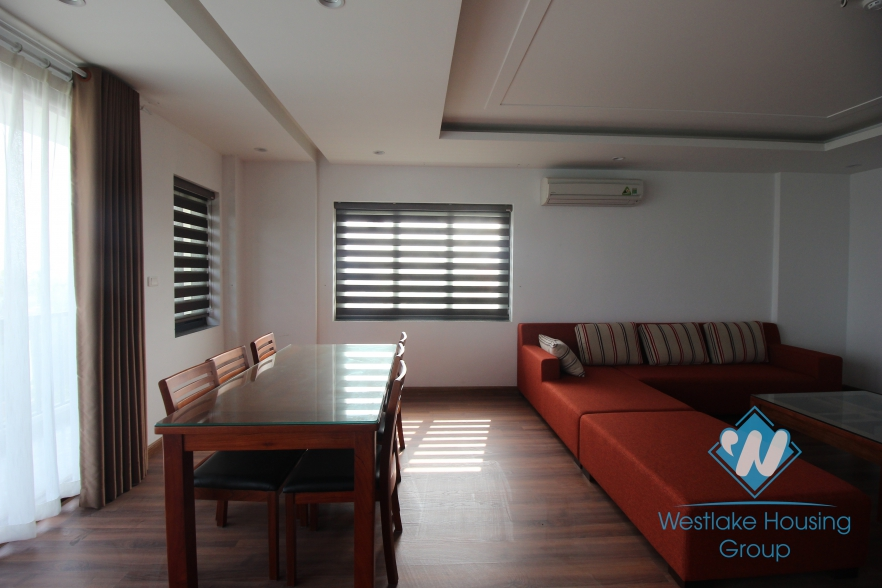 Brandnew and modern high floor apartment for rent in Tay Ho, Hanoi