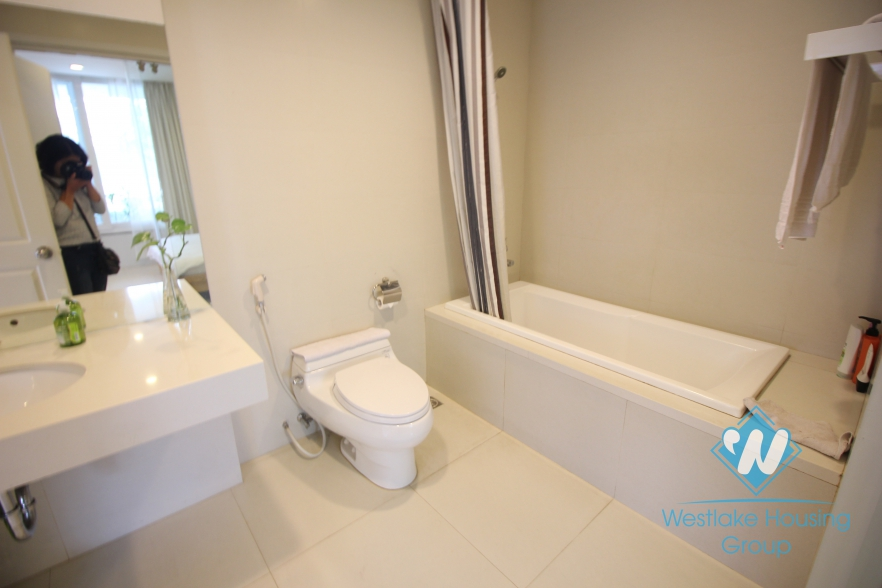 Lakeside modern one bedroom apartment for rent in Tay Ho, Hanoi