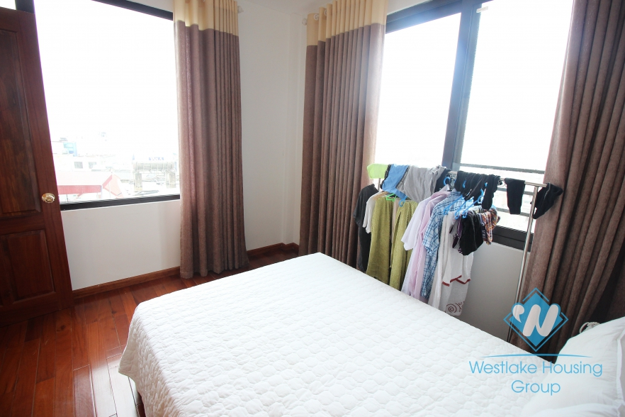 Beautiful 2 bedrooms apartment with gorgeous water view and in a prestige location for rent in Tay Ho, Ha Noi