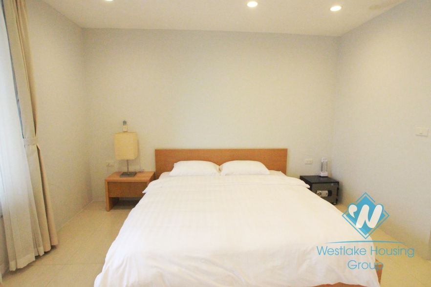 Beautiful 01 bedroom apartment for rent in Dang Thai Mai, facing to Westlake, Hanoi