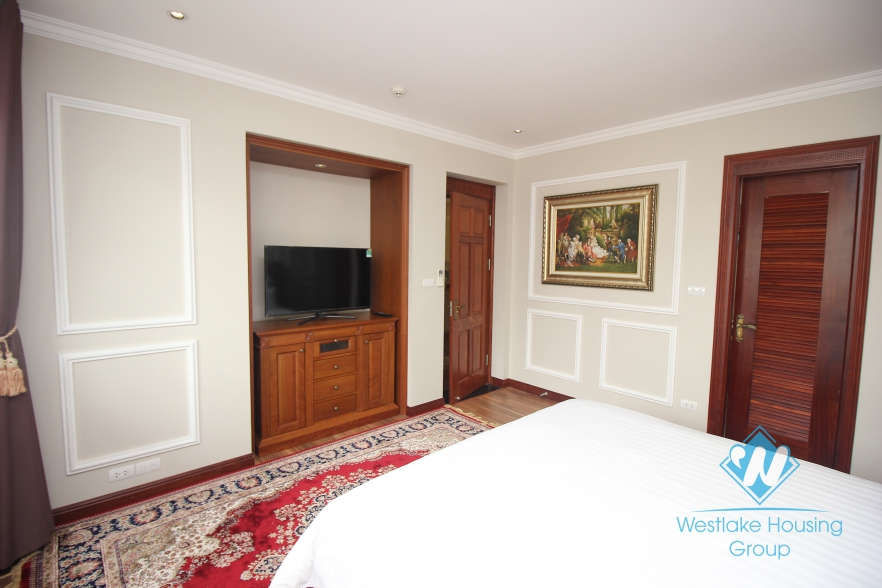 Luxury one bedroom apartment for rent in Hai Ba Trung district
