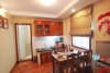 Available studio apartment for rent in Yen Phu, Tay Ho, Ha Noi