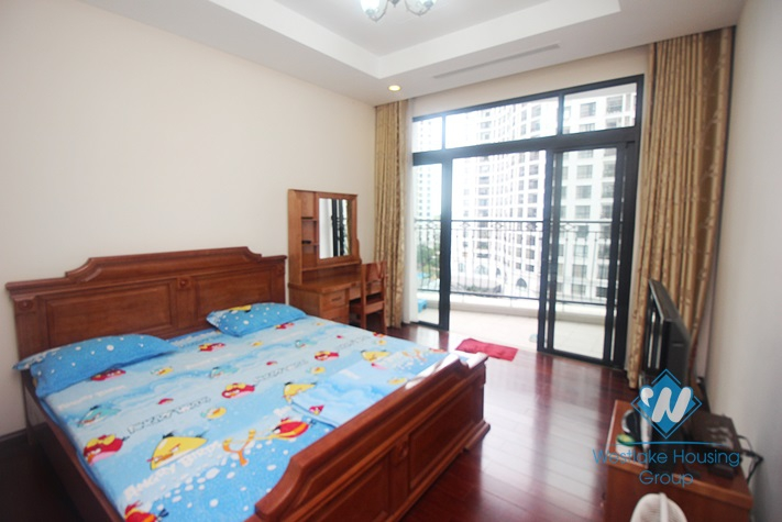 Elegant 2 bedrooms  furnished apartment with bright space for rent at Royal City Ha Noi