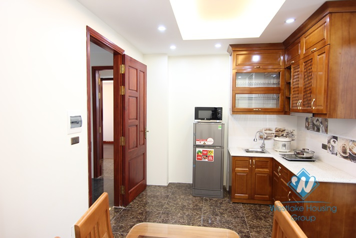 Nice one bedroom for rent in Yen Phu-Tay Ho-Ha Noi
