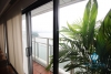 Wonderful lakeside apartment with great service for rent in Ba Dinh