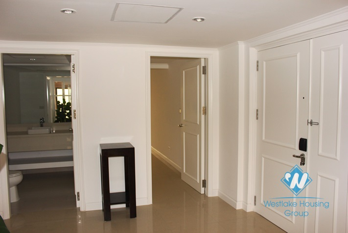 Luxury serviced apartment for lease in Westlake area, Hanoi.