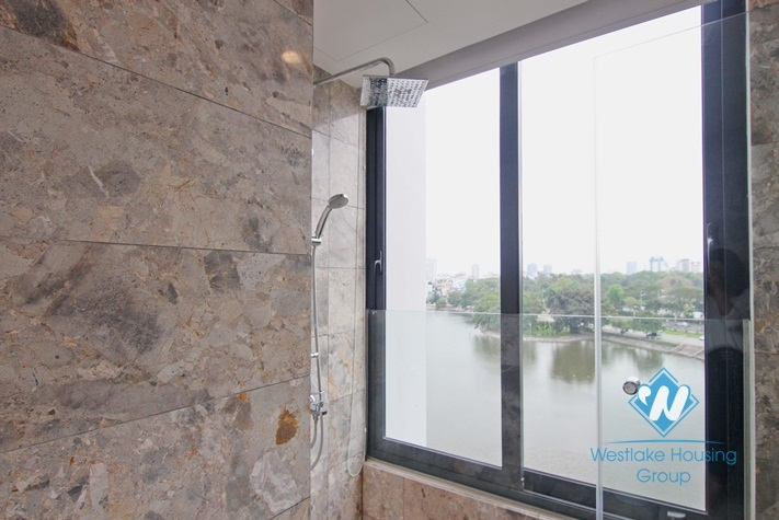 Lakeview apartment for rent in Dong Da, Hai Ba Trung, Hanoi