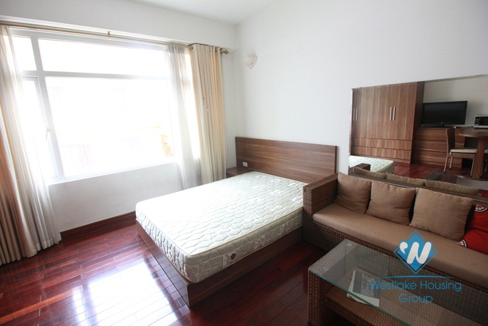 Bright and airy studio apartment for rent in Tay Ho