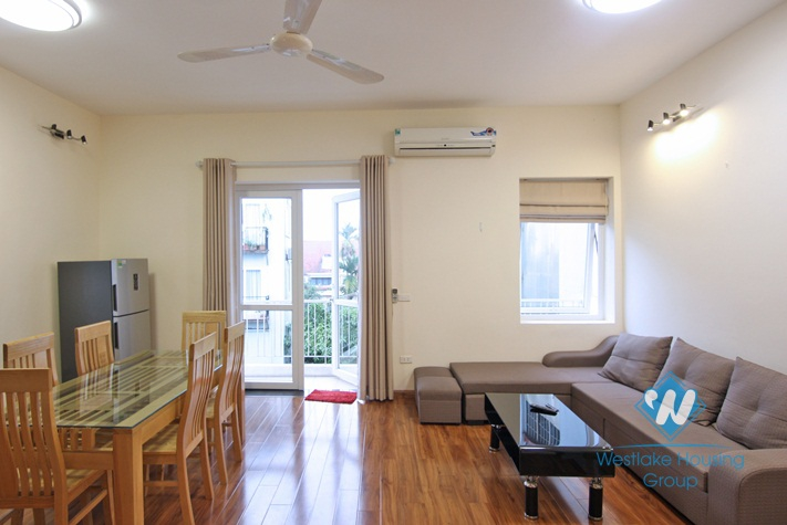 4th floor apartment with balcony for rent on Xuan Dieu, Tay Ho