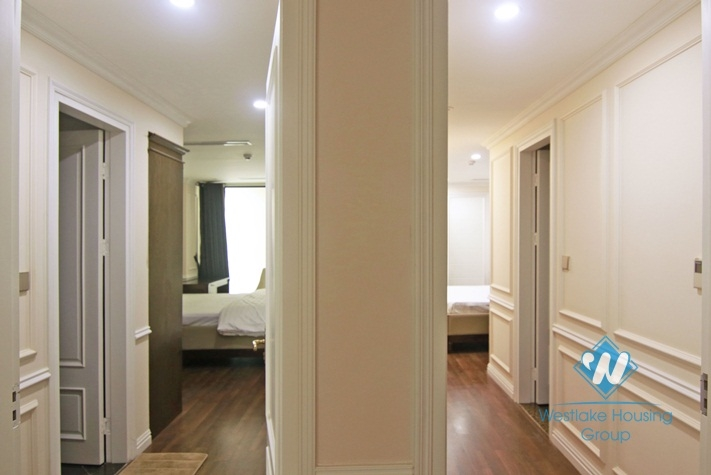 Gorgeous 3 bedroom apartment for rent in Hoan Kiem, Hai Ba Trung Hanoi