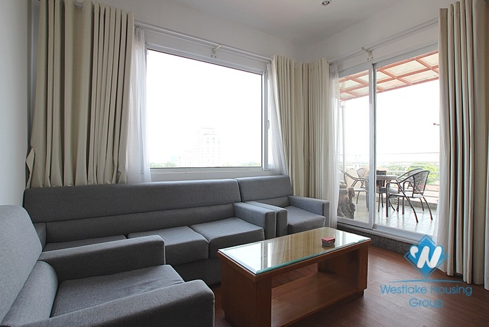 Bright 2 bedroom apartment for rent in Tay Ho, Ha Noi